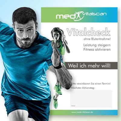Werbemittel Fitness